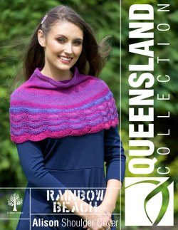 Queensland Collection Rainbow Beach Alison Shoulder Cover Pattern