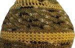 Ruby Crowned Kinglet Hat Closeup