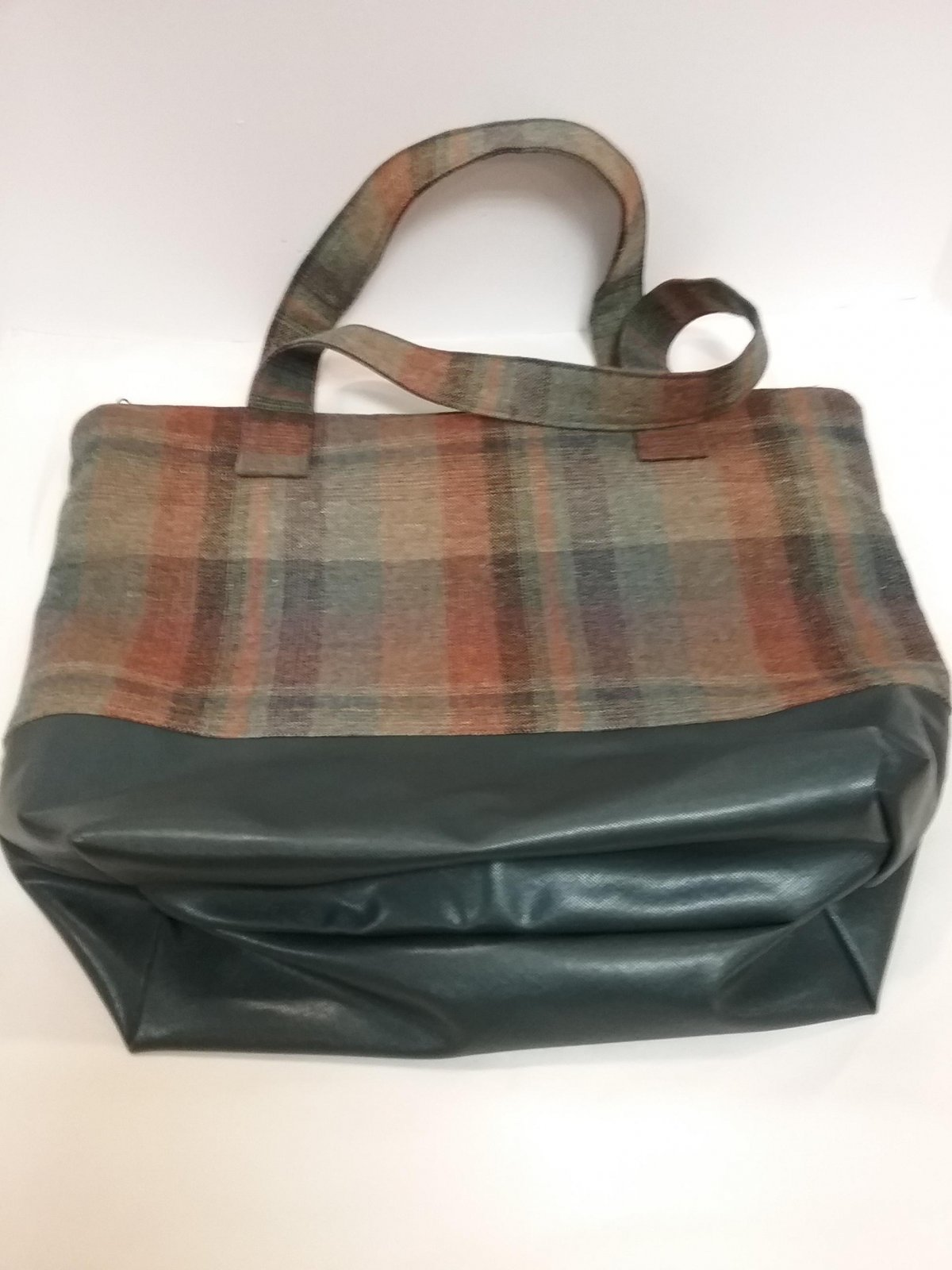 Wool Plaid Bag