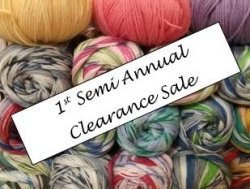 Semi- Annual Clearance Sale