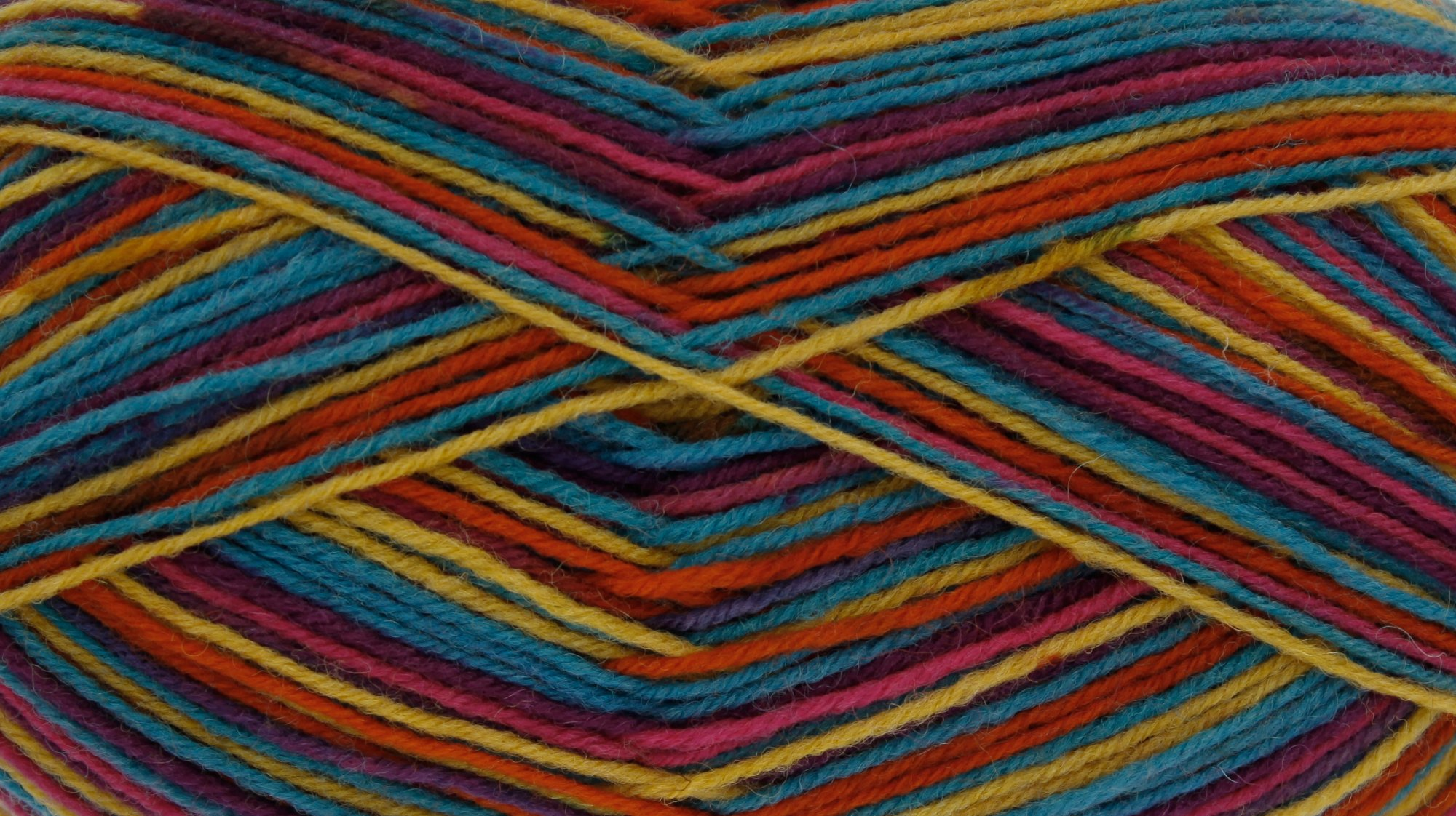King Cole Zig Zag 4Ply Sock