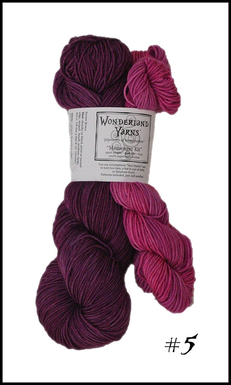 Wonderland Yarns Messenger Kit