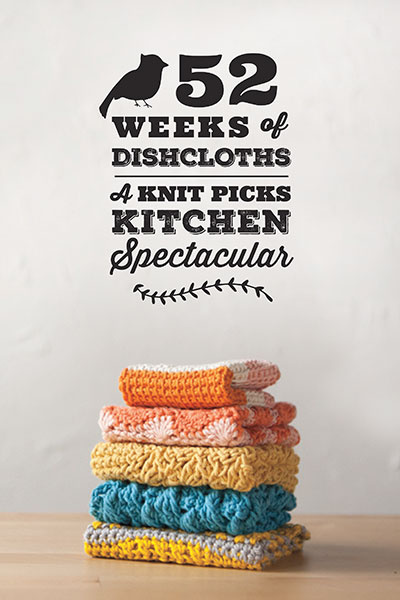 Knit Picks 52 weeks of Dishcloths  2014 Pattern Collection