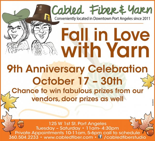 Cabled Fiber & Yarn 9th Anniversary Celebration