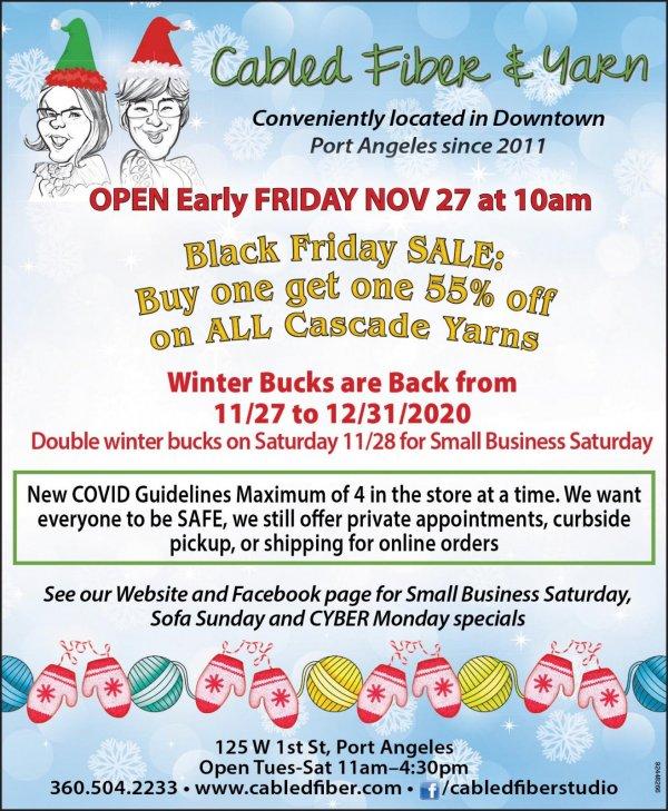 Small Business Saturday BOGO Sale