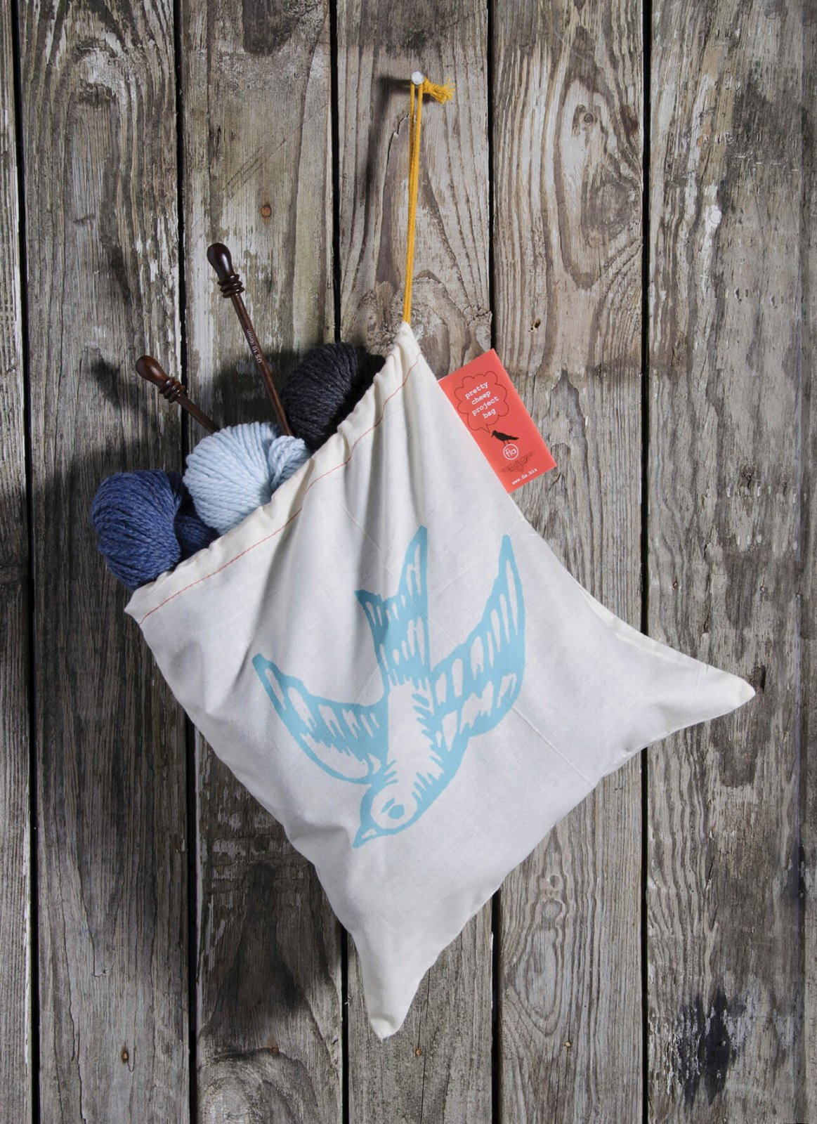Blue Sky Fibers Pretty Cheep Project Bags