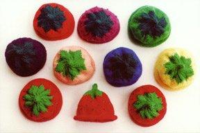 Ann Norling Kid's Fruit Cap Pattern #10