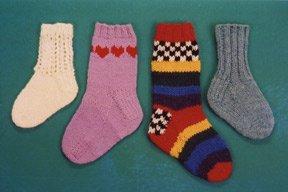 Ann Norling Baby & Kid Basic Socks Pattern #26