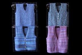 Ann Norling Adult Basic Vest Pattern #27