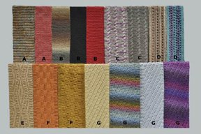 Ann Norling Knit Scarves #33