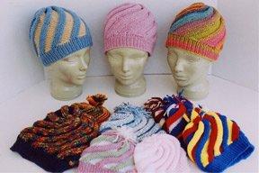 Ann Norling Swirl Hat #56