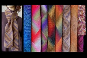 Ann Norling Short Row Multi Directional Scarf Pattern #69