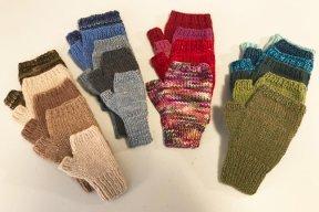 Ann Norling Basic Fingerless Gloves on 2 Needles