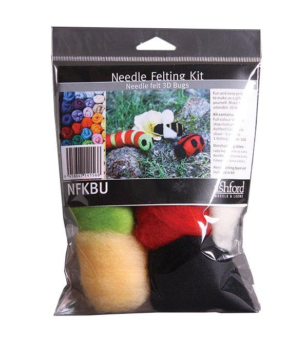 Ashford Needle Felting Kit Bugs