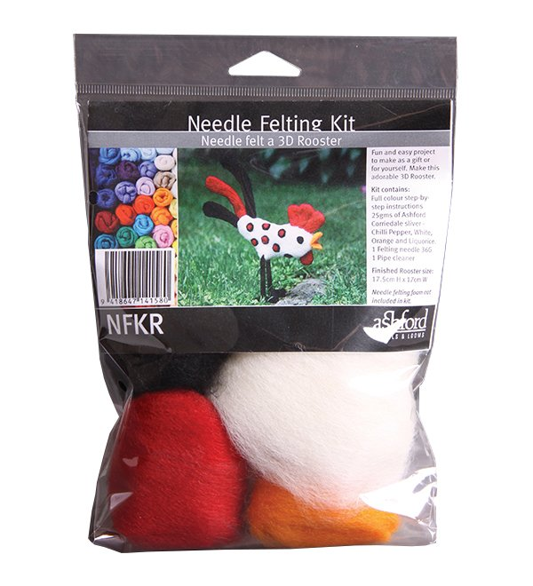 Ashford Needle Felting Kit Rooster