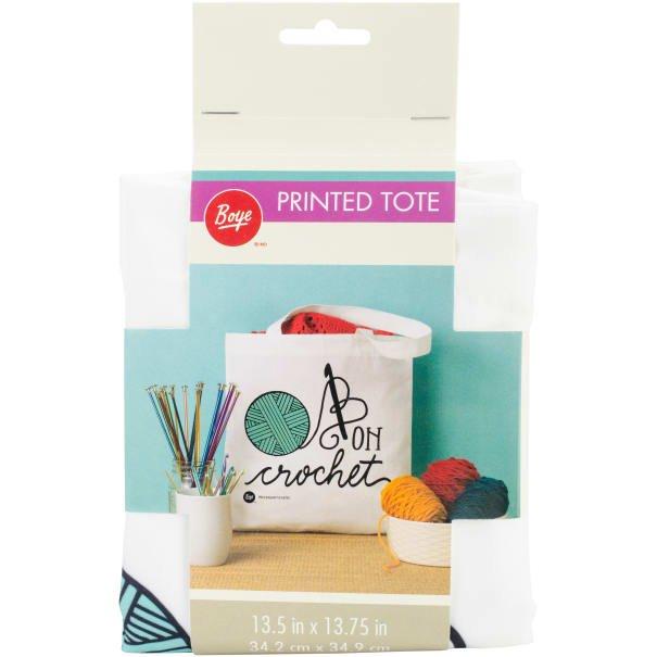 Boye Tote Bag 13.5X13.75-Knit It