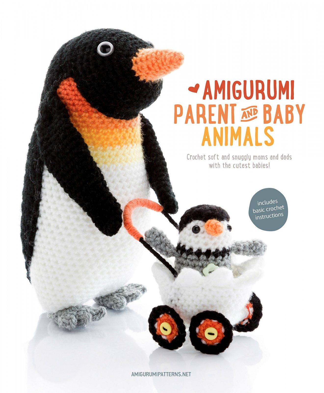 Book: Amigurumi Parent and Baby Animals