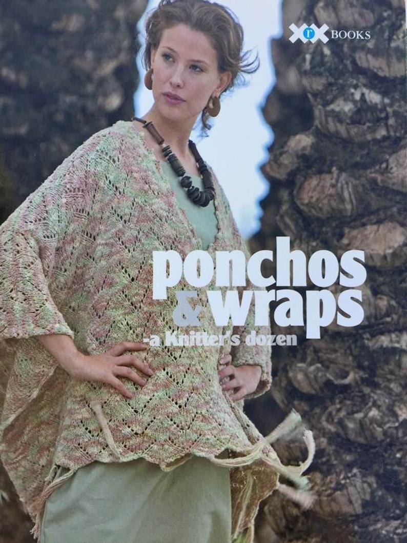 Book: Ponchos & Wraps A Knitter's Dozen