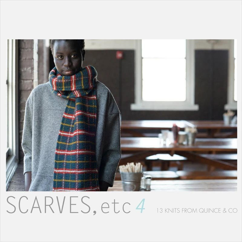 Book: Scarves Etc 4 13 Knits from Quince & Co