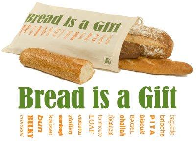 EcoBags Organic Bread Bag