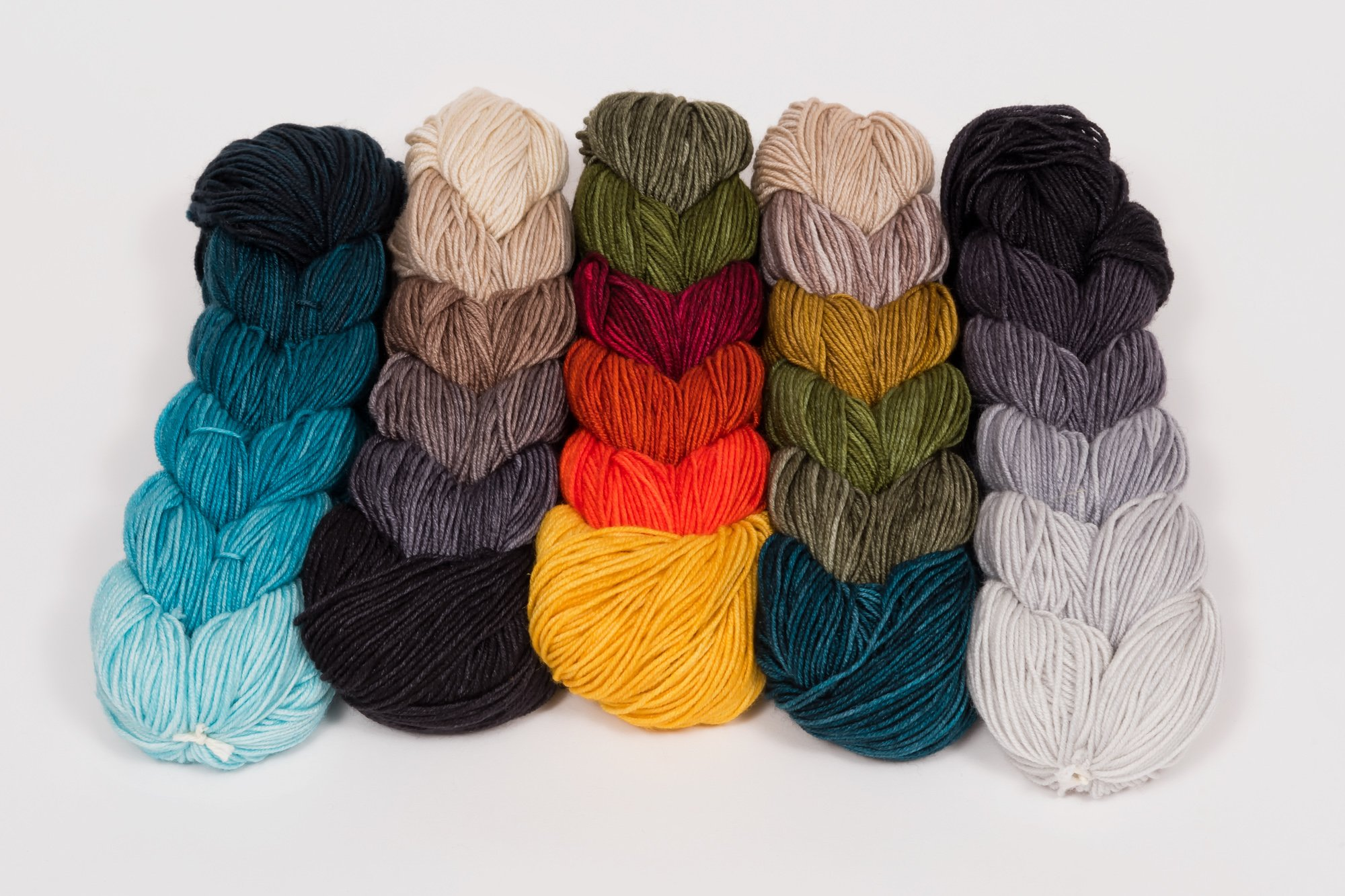 Distracted by Yarn Color Braid