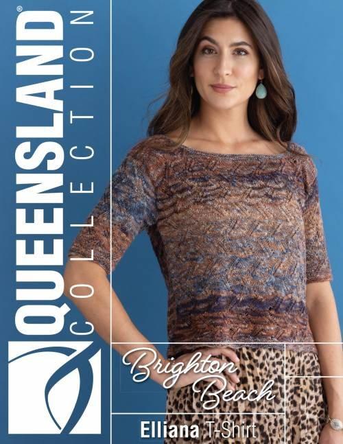Brighton Beach Pattern QC74-02 Elliana T-Shirt