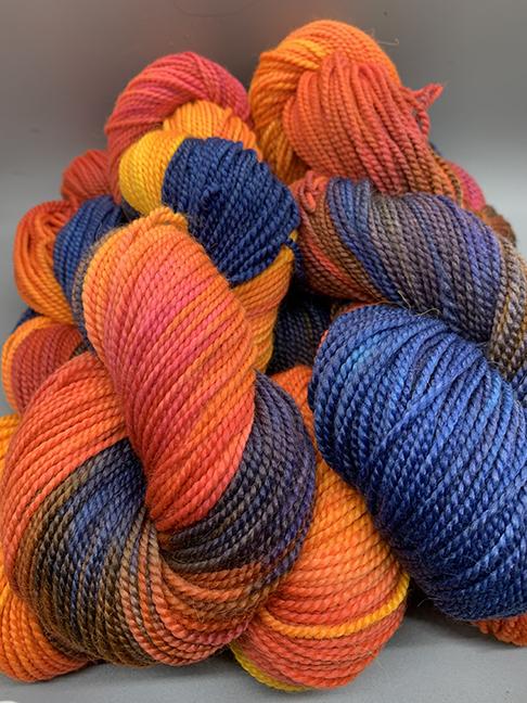 Rainey Creek Fiber - Dyed Alpaca Merino Silk 2 ply