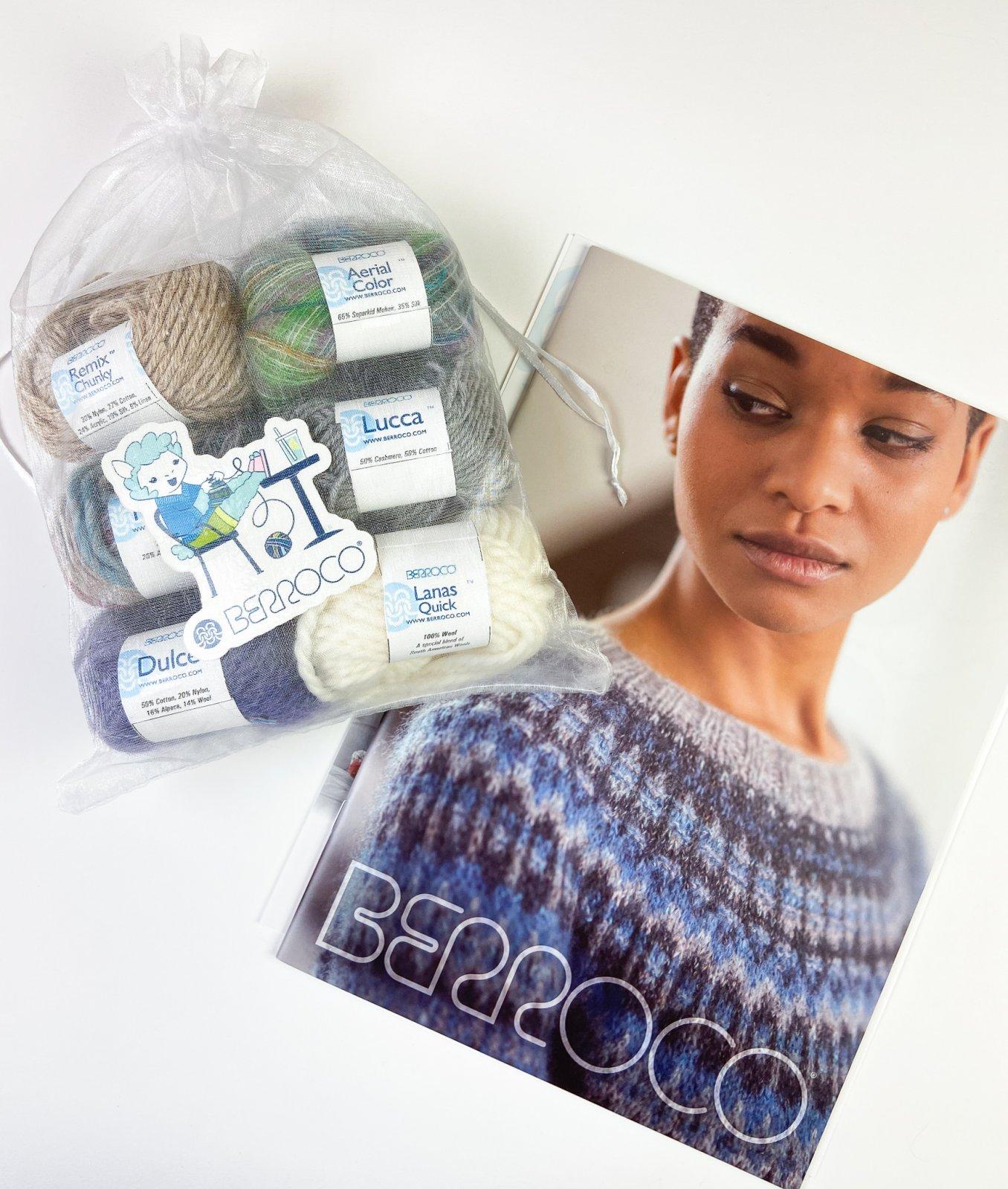 Berroco Home Yarn Tasting Kit