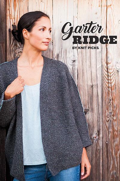 Knit Picks Garter Ridge Book