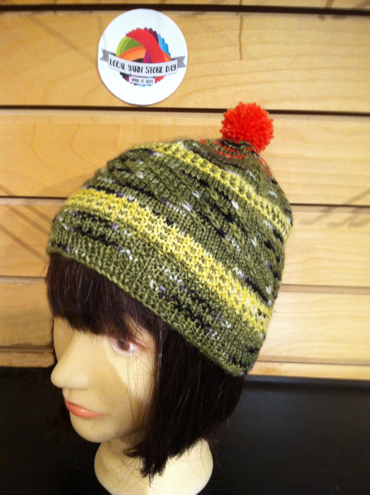 Ruby Crowned Kinglet Hat Kit