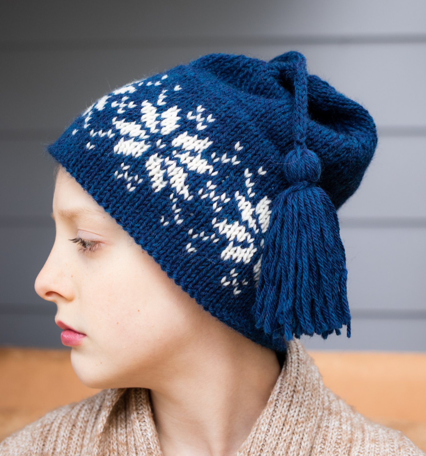 Hurricane Hill Ski Hat (Slow Yarn Crawl 2021) Yarn Only Kit