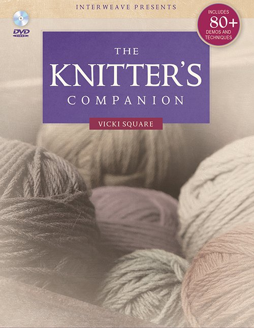 Knitter's Companion (Deluxe Edition) and DVD Book
