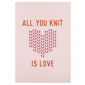 Knit Picks All You Knit is Love Knitting Journal