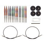 Knit Picks Mosaic Interchangeable Needle Set US Sizes: 4, 5, 6, 7,8, 9, 10, 10.5 and 11