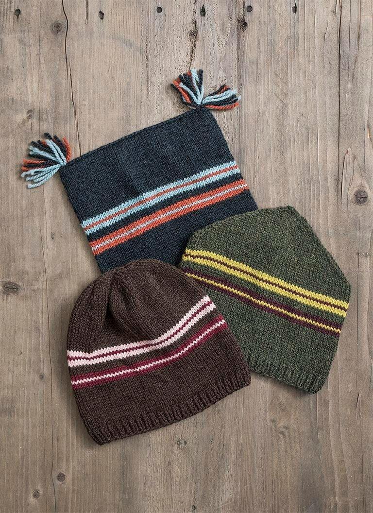 Blue Sky Fibers Kit (1302K) Ski Trio Hat Kit