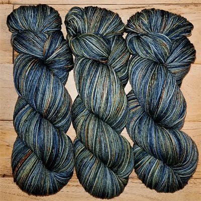 Ryberry Yarns color Monet's Waterlillies