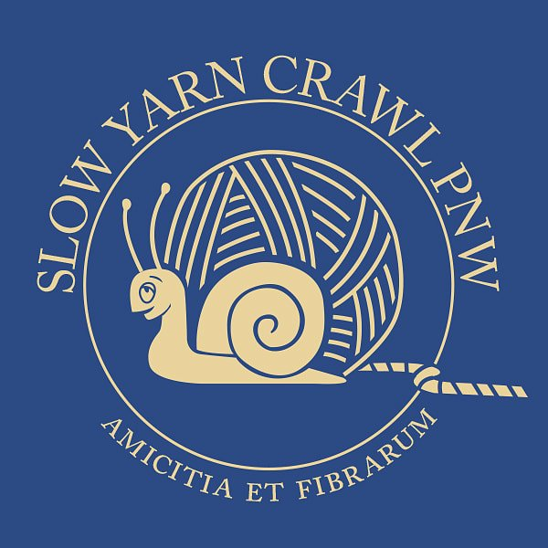 Slow Yarn Crawl Sticker