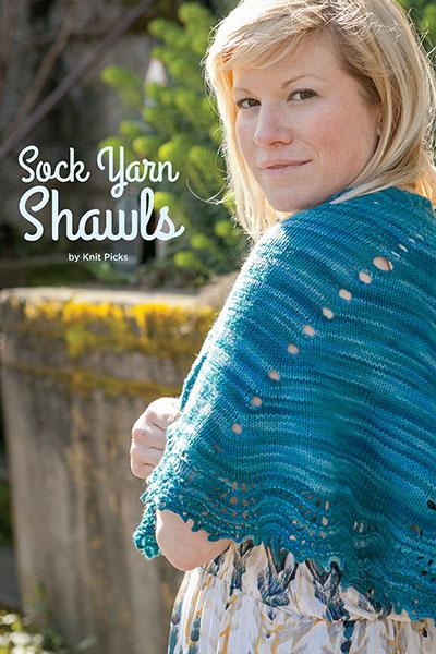 Knit Picks Sock Yarn Shawls Pattern Book