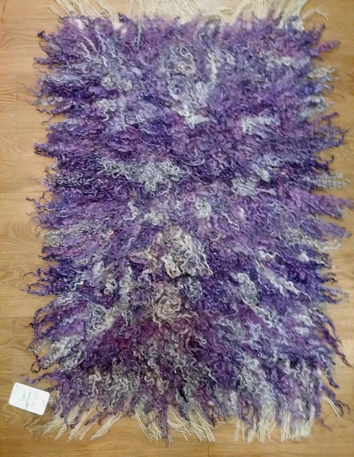 Purple Woven Rug