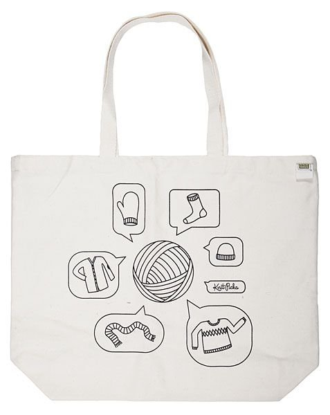 Knit Picks Yarn Talk Tote Bag