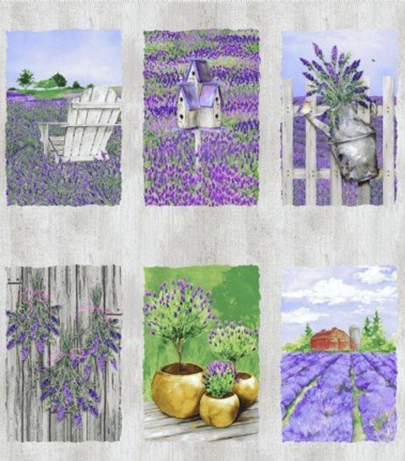 Lovely Lavender Panel