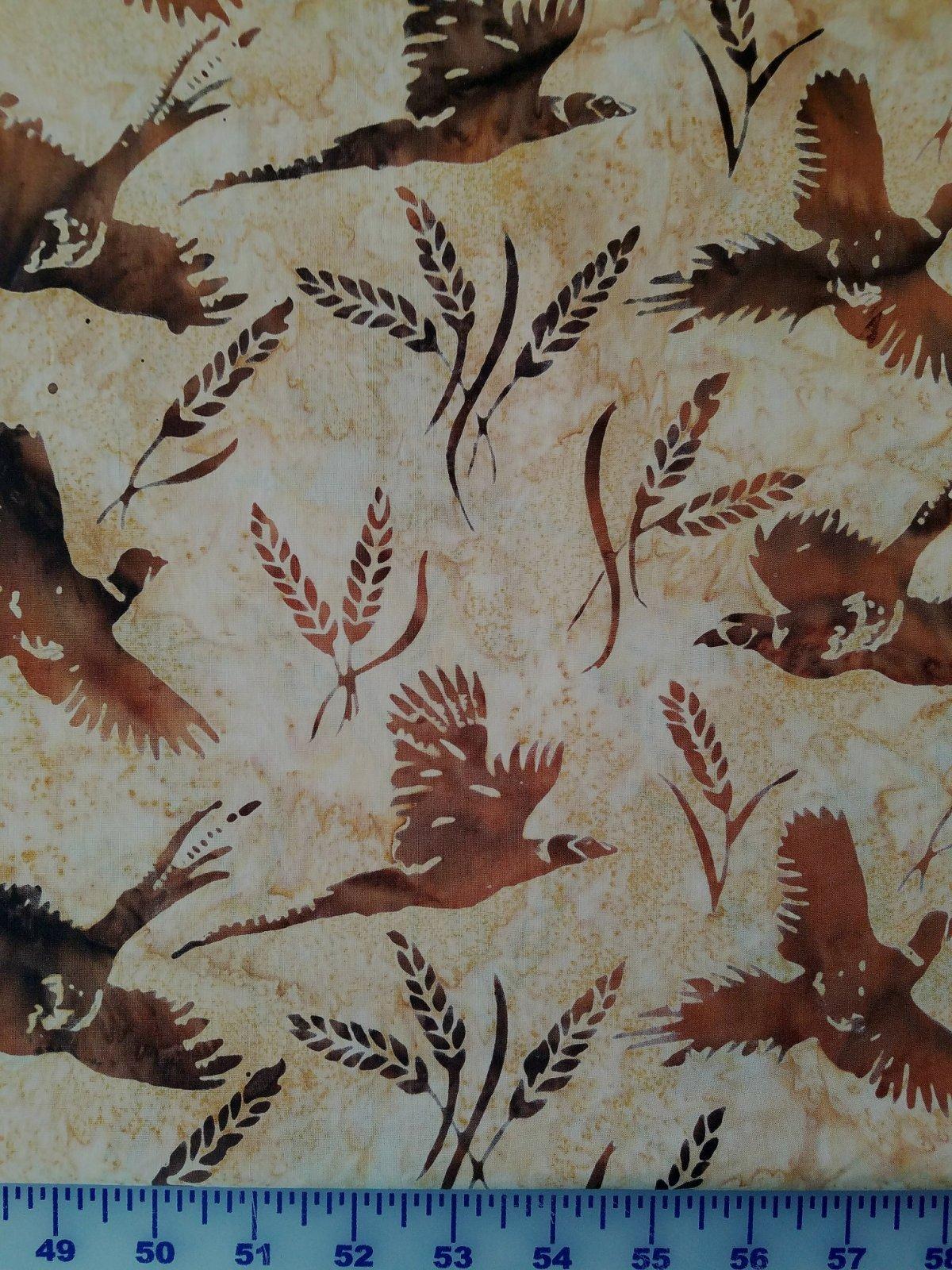 Pheasants & Wheat