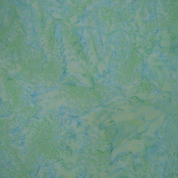 Primaveral Wan Blue Batiks by Mirah