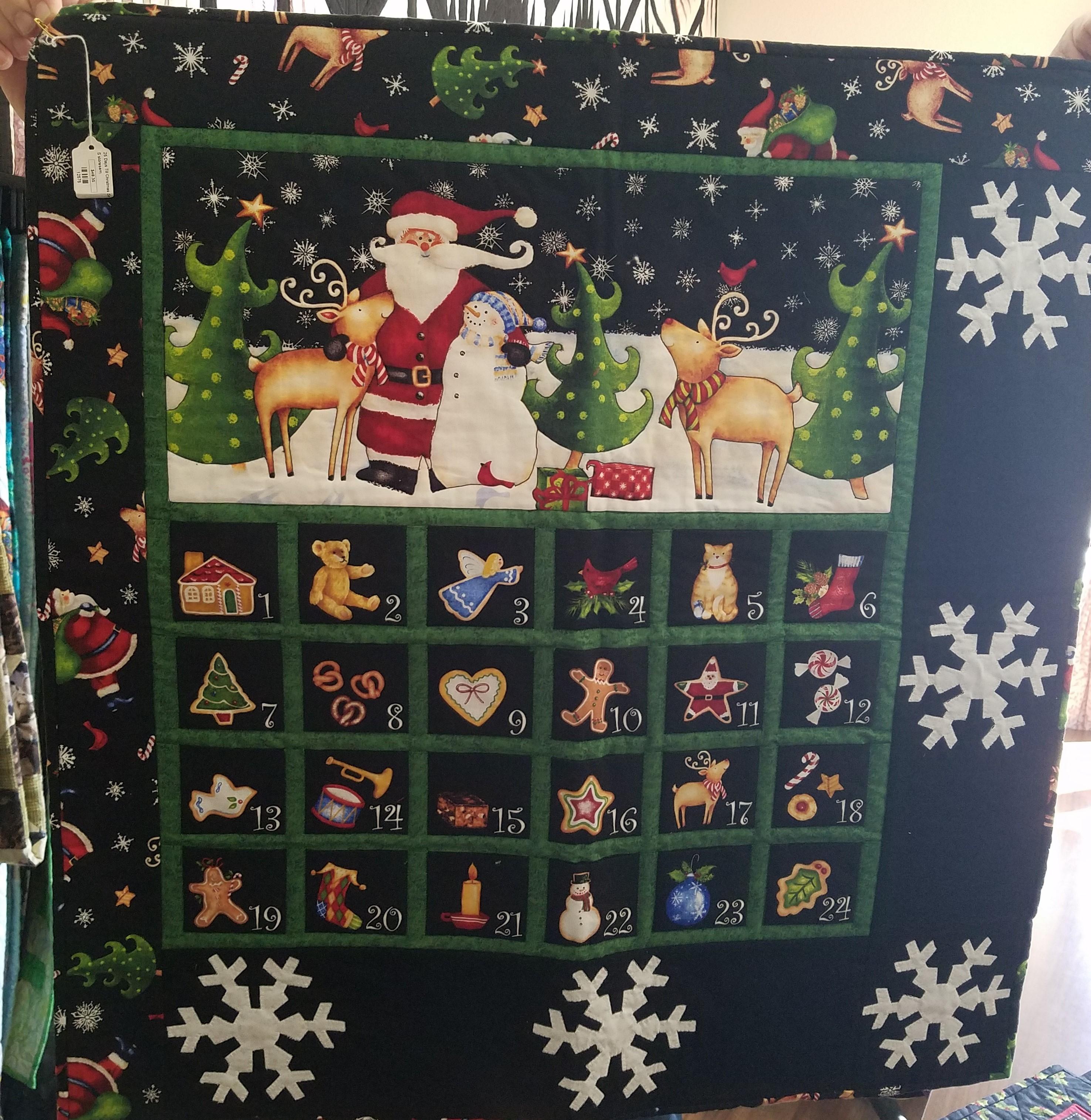 25 Days Till Christmas Advent Sample