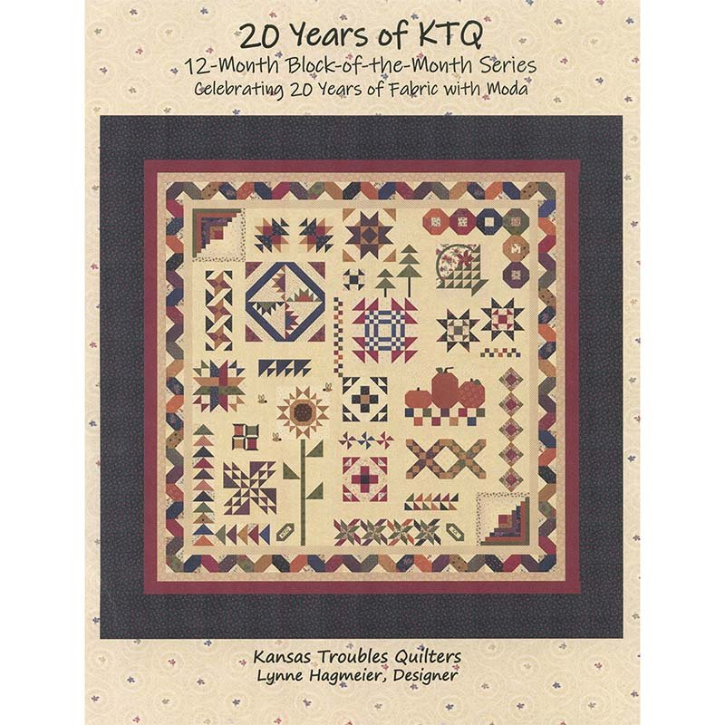 20 Years of Kansas Troubles Quilts BOM