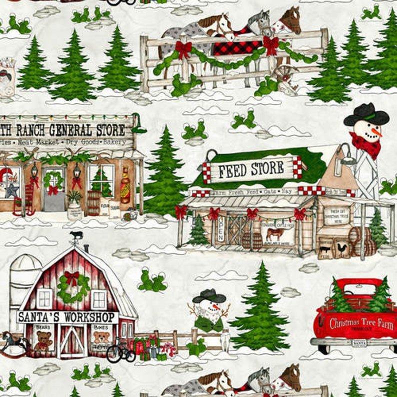 Giddy Up Santa! Scenic