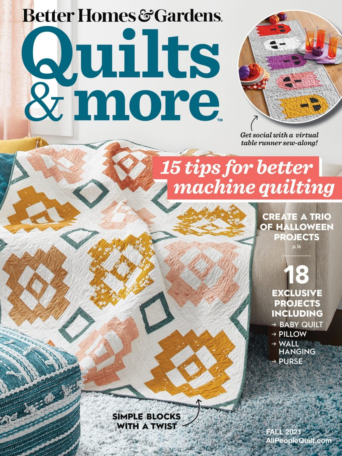 Quilts & More Fall Magazine 2021