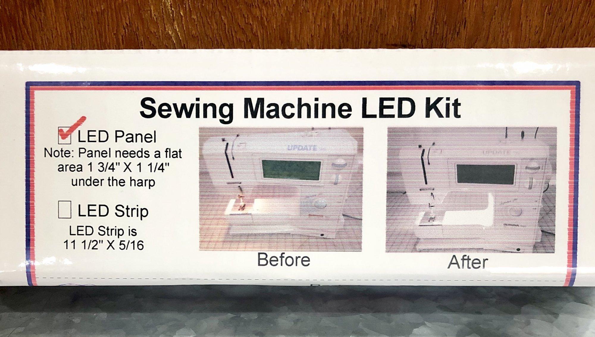 Sewing Machine LED Panel Kit