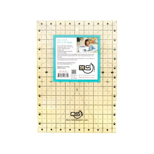 Quilters Select 8.5 x 12 Ruler