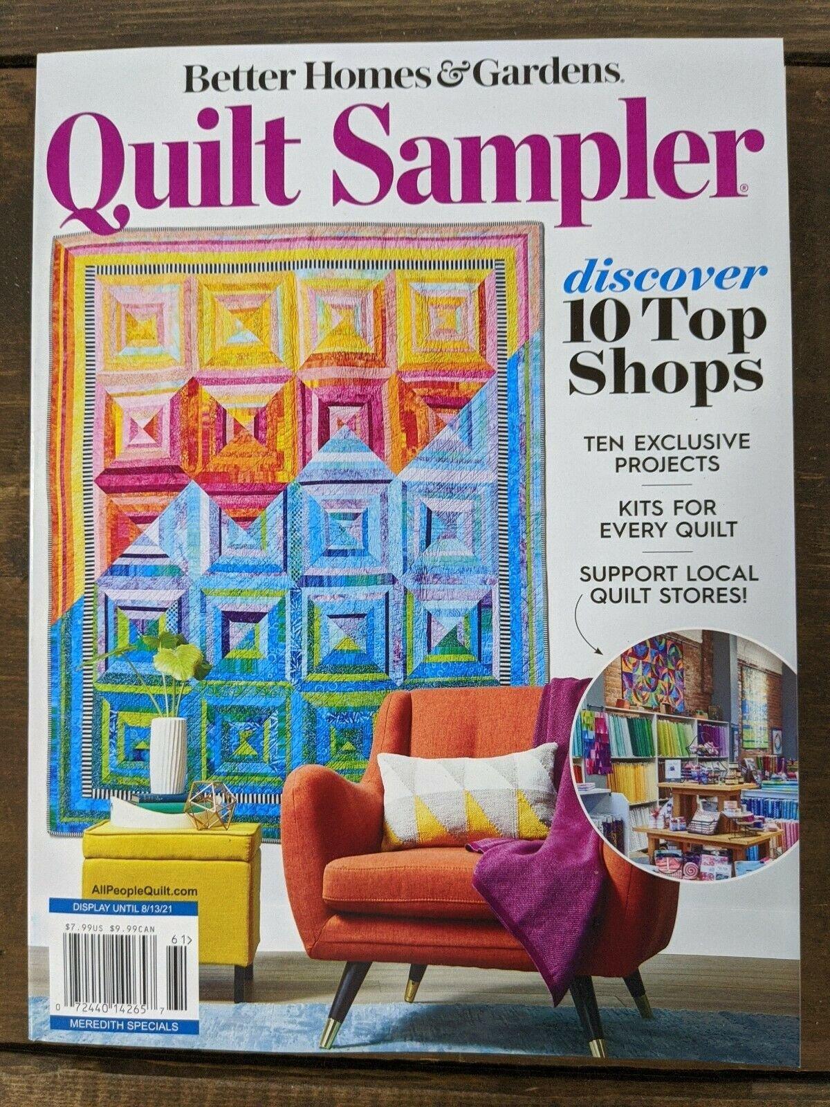 Quilt Sampler Spring/Summer 2021 Magazine